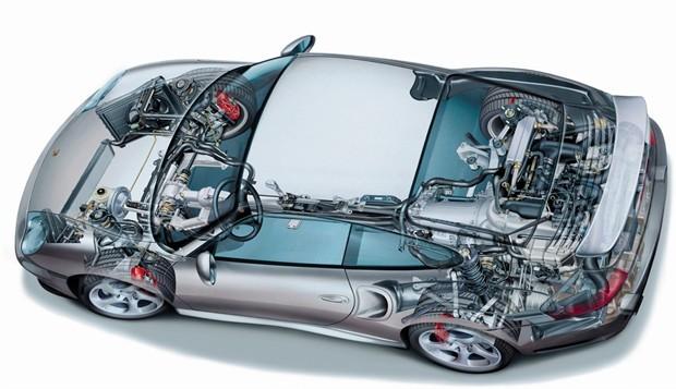 高级汽车内部构造图片
